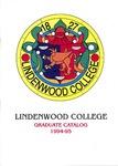 1994-1995 Lindenwood College Graduate Course Catalog