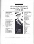 1992-1993 Lindenwood College Graduate Course Catalog