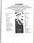 1992-1993 Lindenwood College LCIE Course Catalog