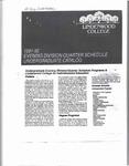 1991-1992 Lindenwood College LCIE Course Catalog
