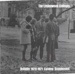 1970-1971 Lindenwood College Course Catalog