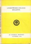1954-1955 Lindenwood College Course Catalog