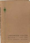 1939-1940 Lindenwood College Course Catalog