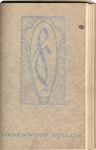 1914-1915 Lindenwood College Course Catalog