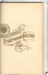 1900-1901 Lindenwood College Course Catalog