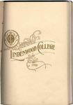 1899-1900 Lindenwood College Course Catalog