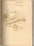 1898-1899 Lindenwood College Course Catalog