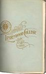 1894-1895 Lindenwood College Course Catalog