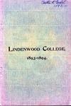 1893-1894 Lindenwood College Course Catalog