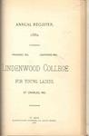 1889-1890 Lindenwood College Course Catalog