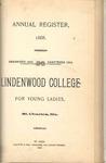 1888-1889 Lindenwood College Course Catalog