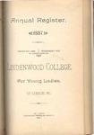 1887-1888 Lindenwood College Course Catalog