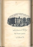 1885-1886 Lindenwood College Course Catalog