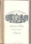 1884-1885 Lindenwood College Course Catalog