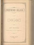 1880-1881 Lindenwood College Course Catalog