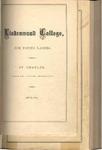 1873-1874 Lindenwood College Course Catalog