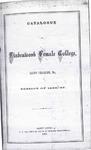 1866-1867 Lindenwood College Course Catalog