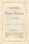 1864-1865 Lindenwood College Course Catalog