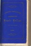 1862-1863 Lindenwood College Course Catalog