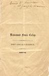 1857-1858 Lindenwood College Course Catalog