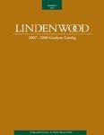 2007-2008 Lindenwood University Graduate Course Catalog