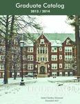 2013-2014 Lindenwood University Graduate Course Catalog
