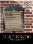 2015-2016 Lindenwood University Accelerated Degree Program Course Catalog by Lindenwood University