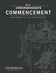 2019 Winter Undergraduate Commencement by Lindenwood University