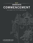 2019 Winter Graduate Commencement