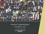 2017 Spring Graduate Commencement by Lindenwood University