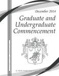 2014 Winter Graduate & Undergraduate Commencement