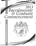 2013 Spring Baccalaureate & Graduate Commencement