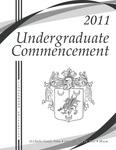 2011 Undergraduate Commencement