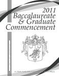 2011 Baccalaureate & Graduate Commencement