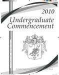 2010 Undergraduate Commencement