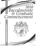 2010 Baccalaureate & Graduate Commencement
