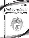 2009 Undergraduate Commencement