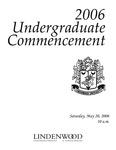 2006 Undergraduate Commencement