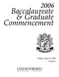 2006 Baccalaureate & Graduate Commencement