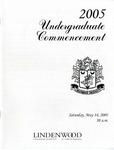2005 Undergraduate Commencement