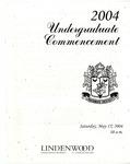 2004 Undergraduate Commencement
