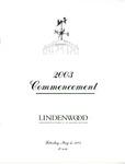 2003 Undergraduate & Graduate Commencement
