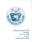 1996 Undergraduate & Graduate Commencement
