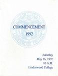 1992 Undergraduate & Graduate Commencement