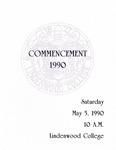 1990 Undergraduate & Graduate Commencement