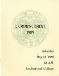 1989 Undergraduate & Graduate Commencement