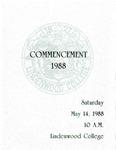 1988 Undergraduate & Graduate Commencement