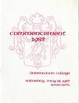 1985 Undergraduate & Graduate Commencement
