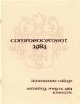 1984 Undergraduate & Graduate Commencement
