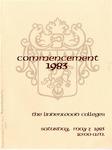 1983 Undergraduate & Graduate Commencement